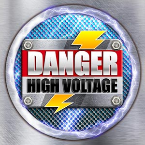 Bgt danger high voltage