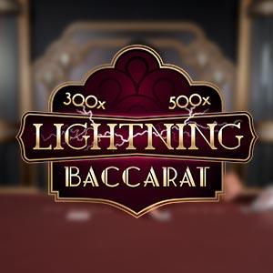 Evolution lightning baccarat